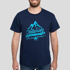 Telluride Mountain Vintage Dark T-Shirt