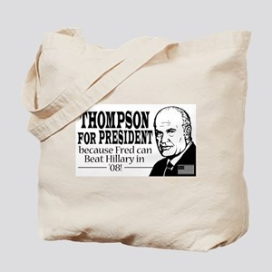 Fred AntiHillary Tote Bag