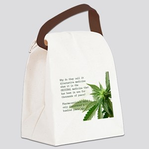 ORIGINAL MEDICINE Canvas Lunch Bag