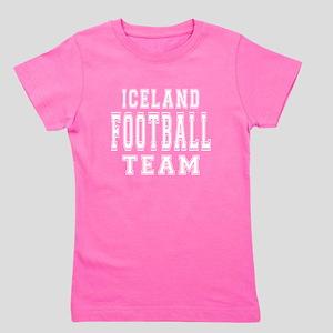 Iceland Football Team Girl's Tee