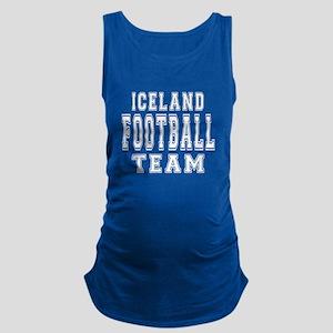 Iceland Football Team Maternity Tank Top