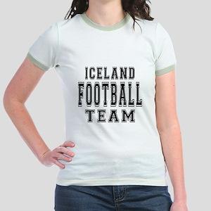 Iceland Football Team Jr. Ringer T-Shirt