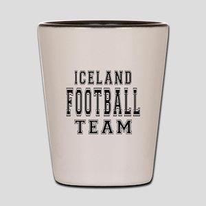 Iceland Football Team Shot Glass
