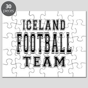 Iceland Football Team Puzzle