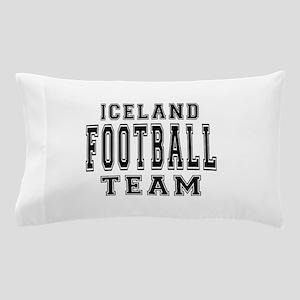 Iceland Football Team Pillow Case