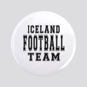 "Iceland Football Team 3.5"" Button"