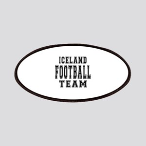 Iceland Football Team Patches