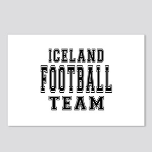 Iceland Football Team Postcards (Package of 8)