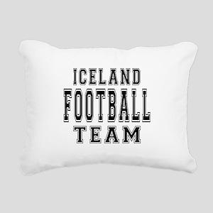 Iceland Football Team Rectangular Canvas Pillow