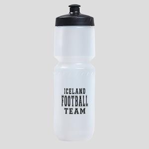 Iceland Football Team Sports Bottle