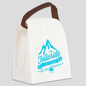 Telluride Mountain Vintage Canvas Lunch Bag
