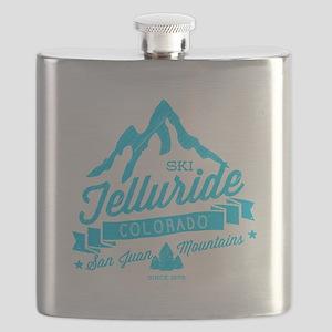 Telluride Mountain Vintage Flask