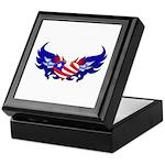 Heart Flag Keepsake Box