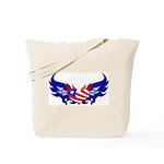 Heart Flag  Tote Bag