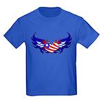 Heart Flag Kids Dark T-Shirt
