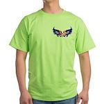 Heart Flag Green T-Shirt