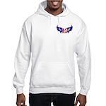 Heart Flag Hooded Sweatshirt