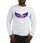 Heart Flag Long Sleeve T-Shirt