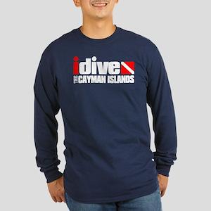 idive (Cayman Islands) Long Sleeve T-Shirt