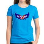 Heart Flag Women's Dark T-Shirt