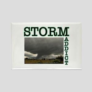 Storm Addict Rectangle Magnet