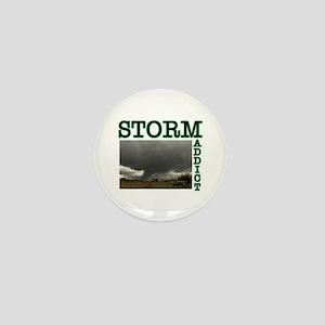 Storm Addict Mini Button