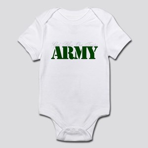 Army: God Bless Our Troops Infant Bodysuit