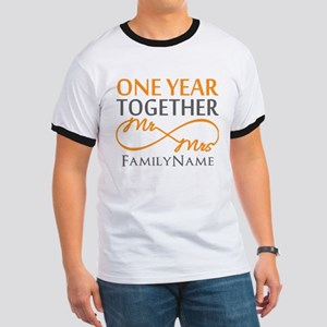 Gift For 1st Wedding Anniversary Ringer T