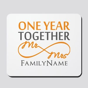 Gift For 1st Wedding Anniversary Mousepad