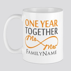 Gift For 1st Wedding Anniversary Mug