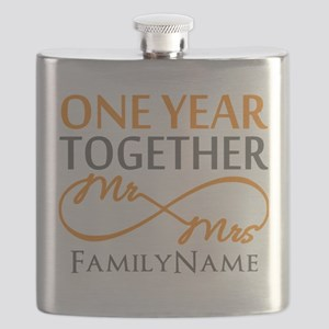 Gift For 1st Wedding Anniversary Flask