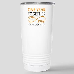 Gift For 1st Wedding An Stainless Steel Travel Mug