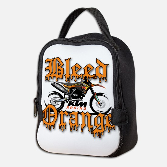 BleedOrange Neoprene Lunch Bag