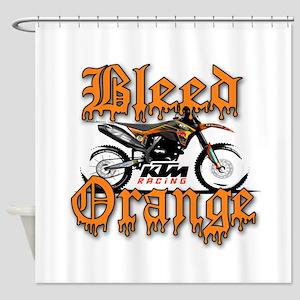 Dirtbike Shower Curtains