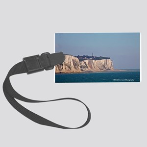 White Cliffs Of Dover Large Luggage Tag