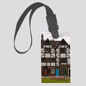 Tower Of London And Guard Large Luggage Tag