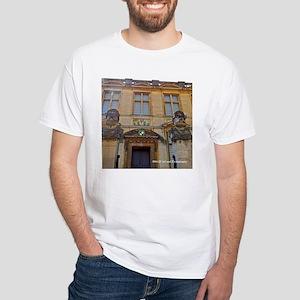 Oxford Glasses White T-Shirt