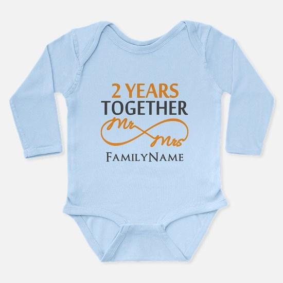 Gift For 2nd Wedding A Long Sleeve Infant Bodysuit