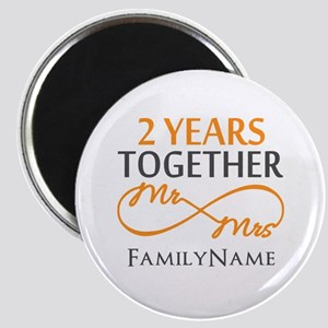 Gift For 2nd Wedding Anniversary Magnet