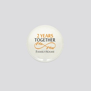 Gift For 2nd Wedding Anniversary Mini Button