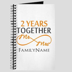 Gift For 2nd Wedding Anniversary Journal