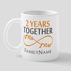 Gift For 2nd Wedding Anniversary Mug