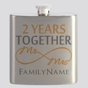 Gift For 2nd Wedding Anniversary Flask