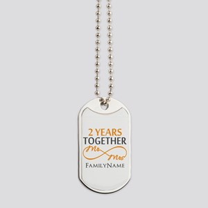 Gift For 2nd Wedding Anniversary Dog Tags