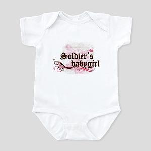 Soldier's Babygirl Infant Bodysuit