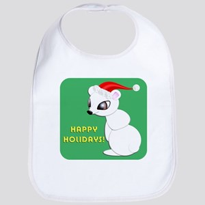 Christmas Bear Bib
