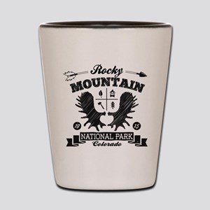 Rocky Mountain Camper Shot Glass