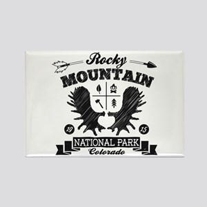 Rocky Mountain Camper Rectangle Magnet