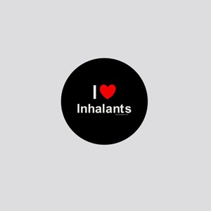 Inhalants Mini Button