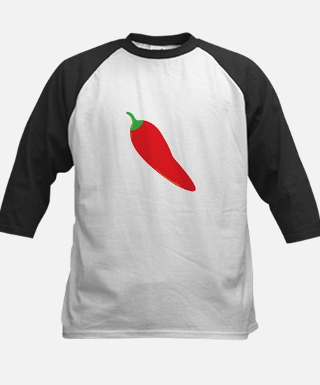 Red Chili Pepper Baseball Jersey
